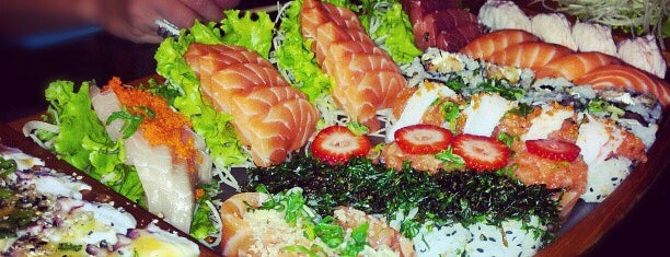 Mori Sushi is one of Locais curtidos por Fernanda.