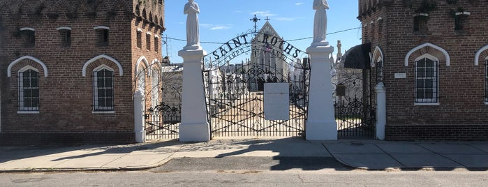 St Roch Cemetery is one of NOLA.