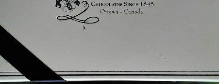 Stubbe Chocolates Ltd is one of Ottawa.