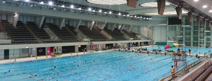 Victoria Park Swimming Pool is one of Hong Kong.