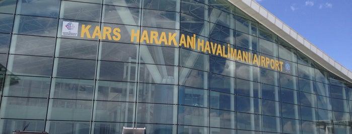 Kars Harakani Havalimanı (KSY) is one of Orte, die gizem gefallen.