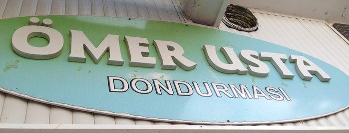 Ömer Usta Dondurmacısı is one of Tempat yang Disimpan petek.