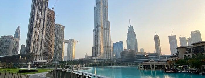 Burj Khalifa Lake is one of Dubai, UAE.