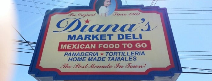 Diana's Mexican Food Market is one of Posti che sono piaciuti a samiam.