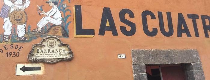Las cuatro milpas is one of San Miguel de Allende.