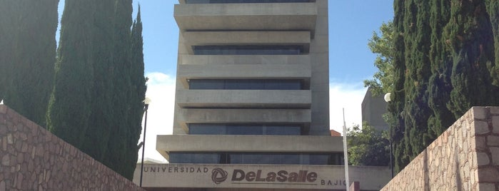 Universidad De La Salle Bajío is one of สถานที่ที่ Caipirinha ถูกใจ.