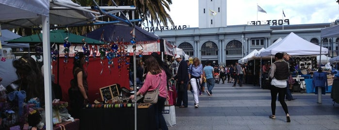 Embarcadero Outdoor Crafts Market is one of Embarcadero.