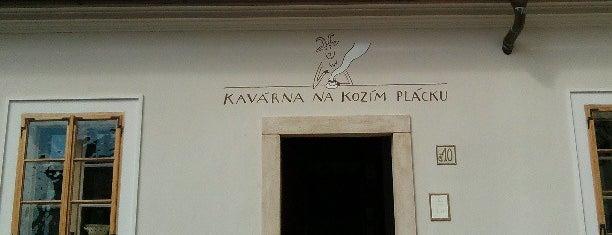 Kavárna Na Kozím plácku is one of สถานที่ที่ Veronica ถูกใจ.