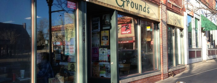 Common Grounds Coffee is one of The Highland - love the area.