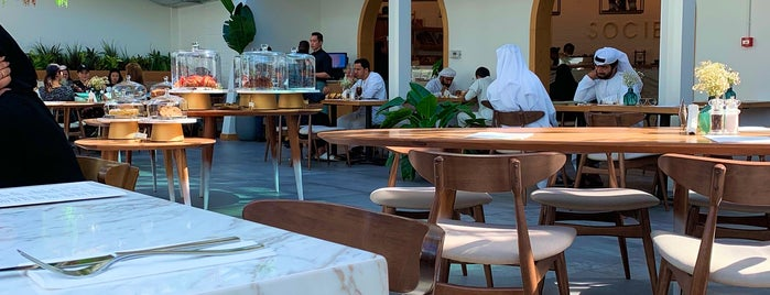 Society Cafe & Lounge is one of Dubai 2018.
