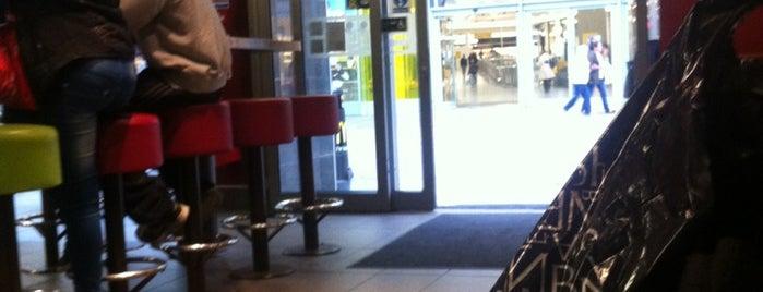 McDonald's is one of Lieux qui ont plu à Kriss.