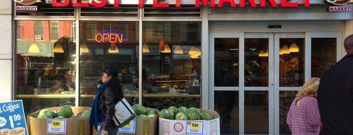 Best Market is one of Best Fresh Food In Harlem.