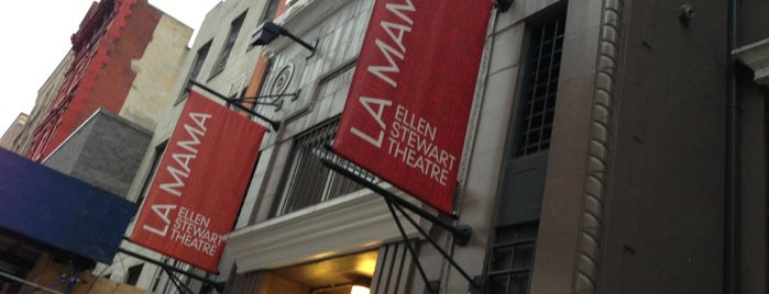 La Mama is one of New Play Havens.