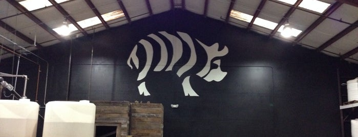 Striped Pig  Distillery is one of Charleston.