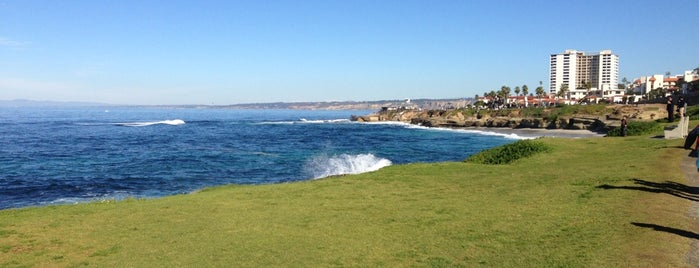 La Jolla Tide Pools is one of places to go.