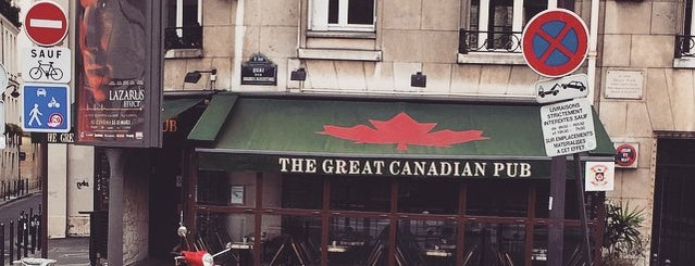 Great Canadian Pub is one of Favourite Hang Out Spots in PARIS.