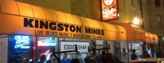 Kingston Mines is one of Chicago bars.