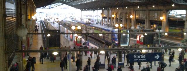 RER Paris Gare du Nord [B,D] is one of Die schönsten Bahnhöfe der Welt.