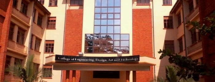 Makerere University CEDAT, School of Engineering is one of Andrew : понравившиеся места.
