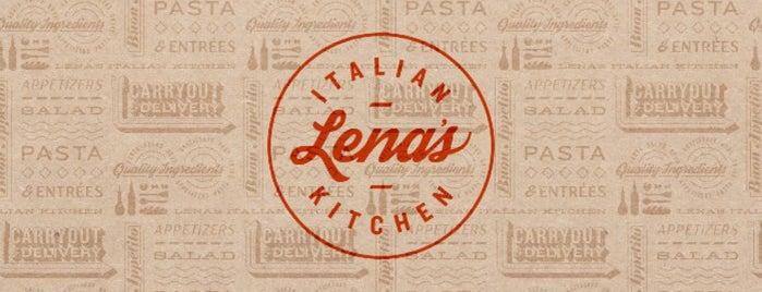 Lena's Italian Kitchen is one of Dina 님이 저장한 장소.