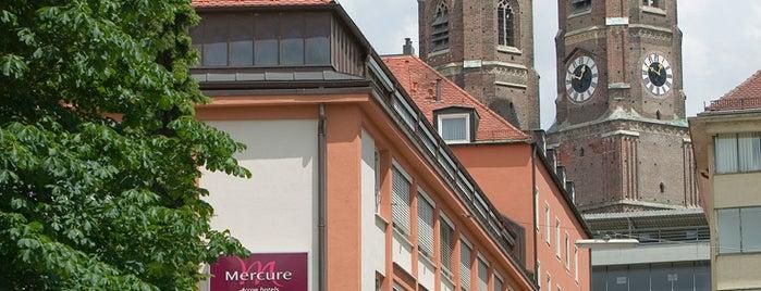 Mercure Hotel München Altstadt is one of Tips List.