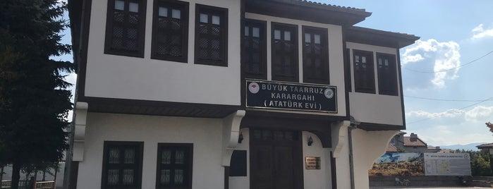 Büyük Taarruz Karargahı (Atatürk Evi) is one of Lugares favoritos de Yalçın.