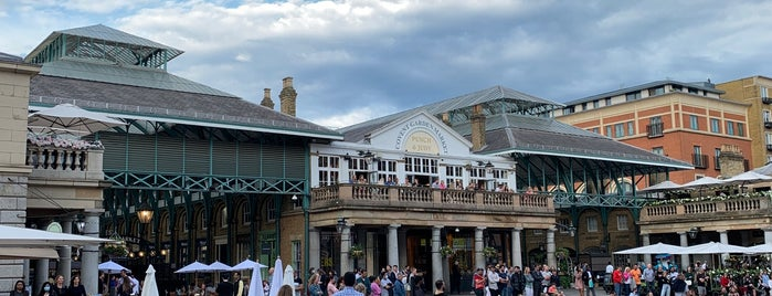 Covent Garden is one of London 🇬🇧.