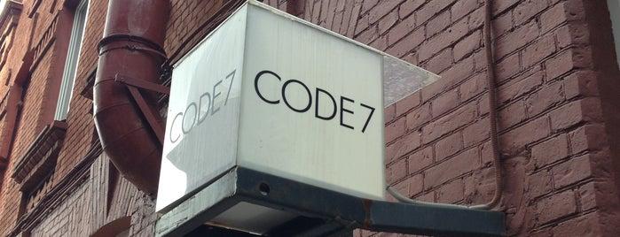 CODE7 is one of Lieux sauvegardés par Andrew.