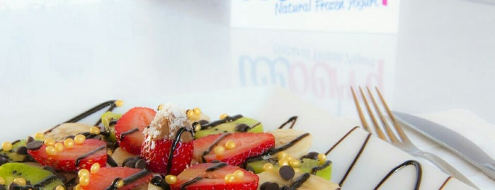 Iceberry Waffle&Frozen Yogurt Shop is one of Lieux qui ont plu à Ahmed.