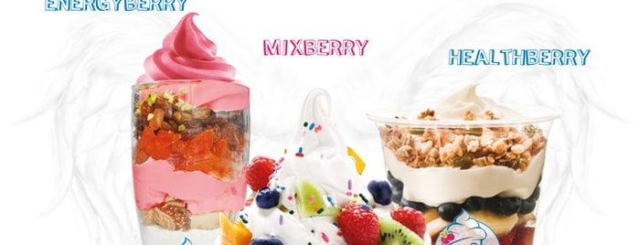 Iceberry is one of Locais salvos de Serkan.