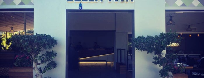 Bella Vita Restaurant & Bar is one of Orte, die Damla gefallen.