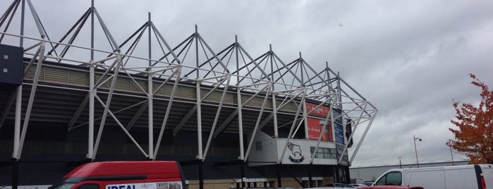 Pride Park Stadium is one of Sky Bet Championship Stadiums 2015/16.