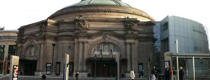 Usher Hall is one of United Kingdom.