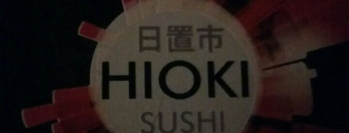 Hioki Sushi is one of Marcos's Liked Places.