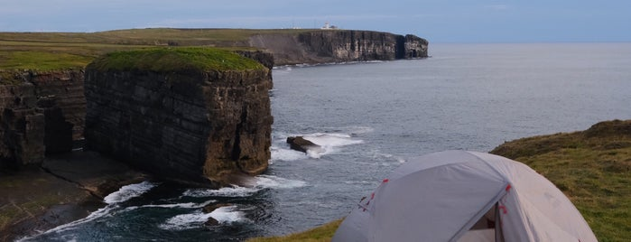 Loop Head Lighthouse is one of Clare.