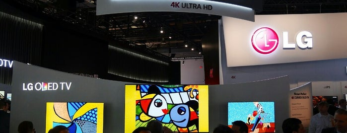 CES 2014 LG @LVCC is one of Пв.