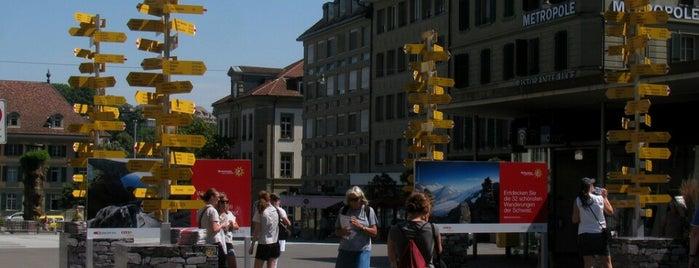 Waisenhausplatz is one of Orte, die Samuele gefallen.