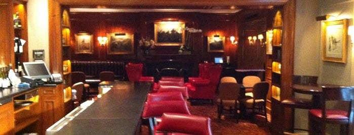 21 Club is one of Top Power Lunch Spots in NYC.