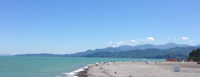 Batum Plajı is one of Locais curtidos por Baturalp.