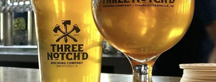 Three Notch'd Craft Kitchen & Brewery is one of Posti che sono piaciuti a Bridget.
