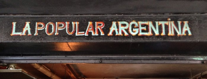 La Popular Argentina is one of delicioso comer.