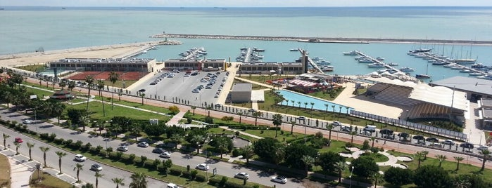 Mersin Marina is one of All time favorites in turkey.