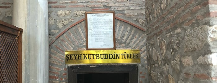 Şeyh Kutbuddin Camii ve Türbesi is one of Fatih 님이 좋아한 장소.