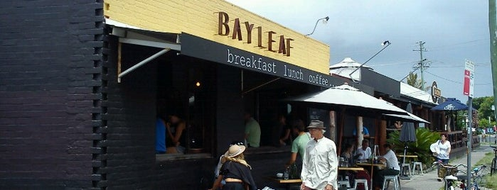 Bayleaf Café is one of Byron Bay Coffee.