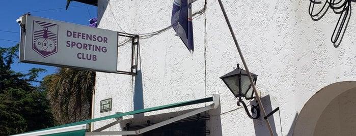 Defensor Sporting Club is one of Orte, die Agustin gefallen.