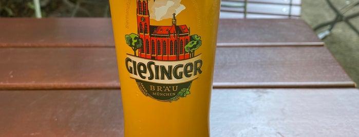 Giesinger Bräu is one of Giasinga Schmankerl.