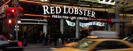 Red Lobster is one of Tempat yang Disukai David.
