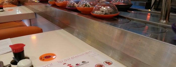 Yo! Sushi is one of Dubai.