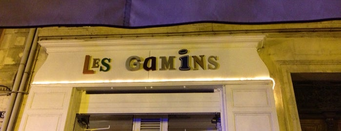 Les Gamins is one of Locais salvos de Antoine.