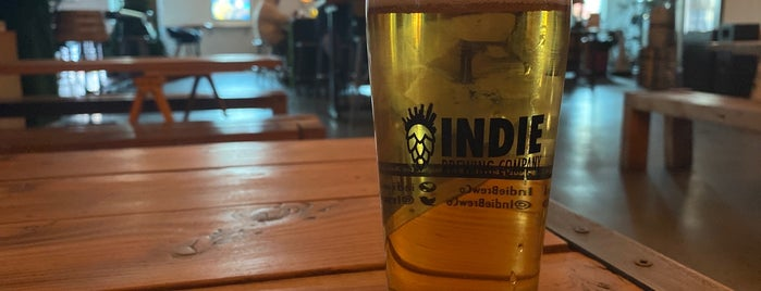 Indie Brewing Company is one of LA, Brah.
